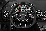 Car pictures of steering wheel view of a 2016 Audi TT-Roadster - 2 Door Convertible Steering Wheel