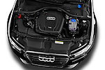 High angle engine detail of a 2014 Audi A6 AVUS 5 Door Wagon 2WD
