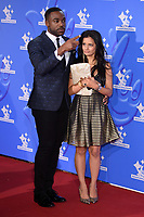 Ore Oduba and Sonali Shah<br /> celebrating the inspirational winners in this year's National Lottery Awards, the search for the UK's favourite National Lottery-funded projects.  The glittering National Lottery Awards show, hosted by Ore Oduba, is on BBC One at 10.45pm on Wednesday 26th September.<br /> <br /> ©Ash Knotek  D3434  21/09/2018