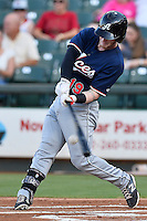 Reno Aces left fielder Zach Borenstein (19) during pacific coast league baseball game, Friday August 14, 2014 in Round Rock, Tex. Reno defeated Round Rock 6-1 to go two up in best of three series. (Mo Khursheed/TFV Media via AP Images)