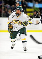 6 December 2009: University of Vermont Catamount forward Brett Leonard, a Junior from South Burlington, VT, in action against the University of New Hampshire Wildcats at Gutterson Fieldhouse in Burlington, Vermont. The Wildcats defeated the Catamounts 5-2 in the Hockey East matchup. Mandatory Credit: Ed Wolfstein Photo