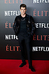 Miguel Bernardeau attends to 'Elite' premiere at Museo Reina Sofia in Madrid, Spain. October 02, 2018. (ALTERPHOTOS/A. Perez Meca)