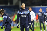EDIT: Lyndon Dykes of Queens Park Rangers warming up during Queens Park Rangers vs Rotherham United, Sky Bet EFL Championship Football at The Kiyan Prince Foundation Stadium on 24th November 2020