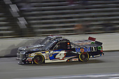 #4: Todd Gilliland, Kyle Busch Motorsports, Toyota Tundra Mobil 1, #20: Tyler Young, Young's Motorsports, Chevrolet Silverado Randco/Young's Building Systems