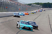 NASCAR XFINITY Series<br /> Pocono Green 250<br /> Pocono Raceway, Long Pond, PA USA<br /> Saturday 10 June 2017<br /> Kyle Benjamin, Hisense Toyota Camry and William Byron, AXALTA / Rousseau Chevrolet Camaro<br /> World Copyright: Russell LaBounty<br /> LAT Images<br /> ref: Digital Image 17POC1rl_03266