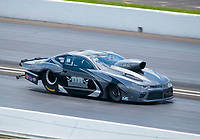 Aug 9, 2020; Clermont, Indiana, USA; NHRA mountain motor pro stock driver Dwayne Rice during the Indy Nationals at Lucas Oil Raceway. Mandatory Credit: Mark J. Rebilas-USA TODAY Sports