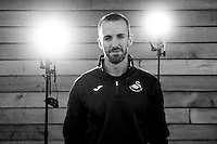 Thursday  13 October 2014<br /> Pictured: Head of Sports Science, Jonny Northeast<br /> Re: Swansea City FC staff profiles at the Fairwood training ground, Swansea, Wales, UK