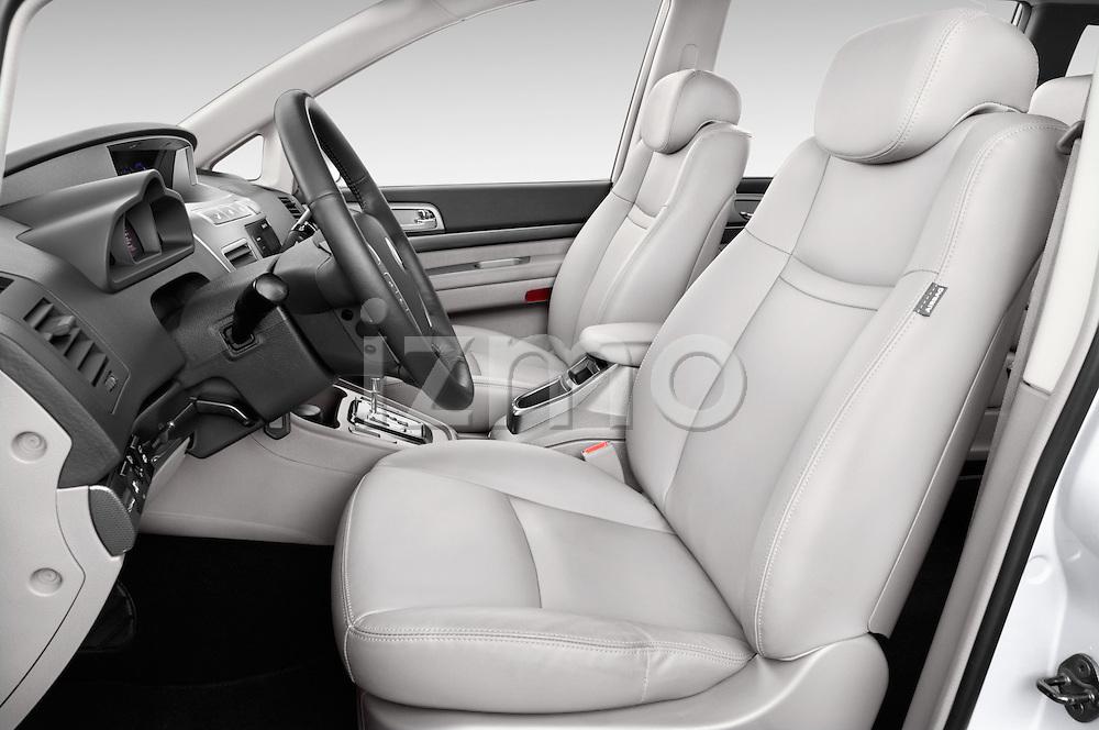 Front seat view of 2014 Ssangyong Rodius Sapphire 5 Door Minivan Front Seat car photos