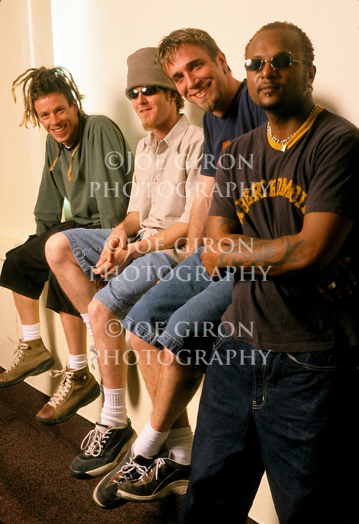 Various portrait sessions of the rock band, Jimmie's Chicken Shack.