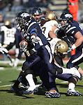Nevada's Lampford Mark runs in an NCAA football game against Idaho in Reno, Nev., on Saturday, Dec. 3, 2011. Nevada won 56-3.  .Photo by Cathleen Allison