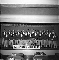 H.S. Lion's Club ca. 1957