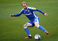 Connor Ogilvie of Gillingham in action during Gillingham vs Charlton Athletic, Sky Bet EFL League 1 Football at the MEMS Priestfield Stadium on 21st November 2020