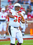 Ball State Cardinals guard Rayondon Kennedy (76) in action during the game between the Ball State Cardinals  and the Oklahoma Sooners at the Oklahoma Memorial Stadium in Norman, Oklahoma. OU defeats Ball State 62 to 6.