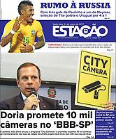 24.03.2017 - Doria promete 10 mil câmeras no ''BBB-SP1'. Foto: (Fábio Vieira/FotoRua)