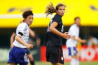 14 MAY 2011: USA Women's National Team midfielder Tobin Heath (17) during the International Friendly soccer match between Japan WNT vs USA WNT at Crew Stadium in Columbus, Ohio.