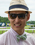Scenes from around the track on Belmont Stakes Day at Belmont Park in Elmont, New York on June 7, 2013.
