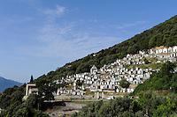 Friedhof von Olmeto, Korsika, Frankreich