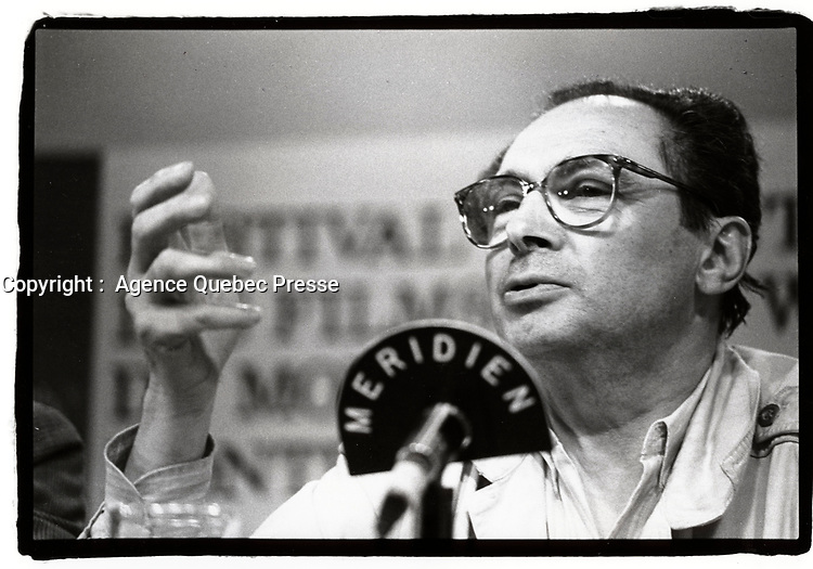 Montreal (Qc) CANADA - august 25 1987 File Photo - Jean-Charles Tachella