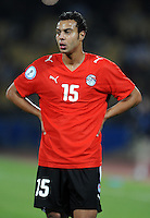 Ahmed Farag of Egypt. USA defeated Egypt 3-0 during the FIFA Confederations Cup at Royal Bafokeng Stadium in Rustenberg, South Africa on June 21, 2009.