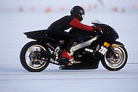 Speed Week Bonneville Salt Flats #268 1000/MPS-F 1990 Kawasaki Motorcycle
