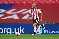 Nicky Law of Exeter City during the Sky Bet League 2 PLAY-OFF Final match between Exeter City and Northampton Town at Wembley Stadium, London, England on 29 June 2020. Photo by Andy Rowland.