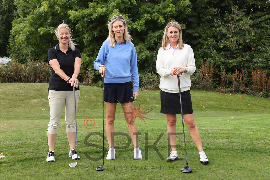 Pictured from left are the Wilmott Dixon team: Sarah Boland, Rachel Bates and Jenna Frudd