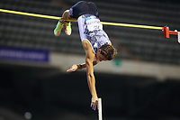 5th September 2020, Brussels, Netherlands;  Sweden s Armand Duplantis competes during the Pole Vault Men at the Diamond League Memorial Van Damme athletics event at the King Baudouin stadium in Brussels, Belgium