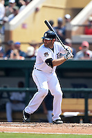 Detroit Tigers catcher Alex Avila (13) during a Spring Training game against the Washington Nationals on March 22, 2015 at Joker Marchant Stadium in Lakeland, Florida.  The game ended in a 7-7 tie.  (Mike Janes/Four Seam Images)