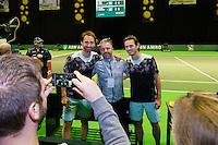 ABN AMRO World Tennis Tournament, Rotterdam, The Netherlands, 14 februari, 2017, Matwe Middelkoop (NED), Wesley Koolhof (NED)<br /> Photo: Henk Koster
