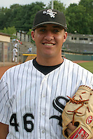 August 23, 2005:  Derek Rodriguez of the Bristol White Sox during a game at Devault Memorial Stadium in Bristol, VA.  Bristol is the Appalachian League Rookie affiliate of the Chicago White Sox.  Photo by:  Mike Janes/Four Seam Images