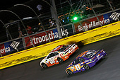 Monster Energy NASCAR Cup Series<br /> Coca-Cola 600<br /> Charlotte Motor Speedway, Concord, NC USA<br /> Sunday 28 May 2017<br /> Denny Hamlin, Joe Gibbs Racing, FedEx Office Toyota Camry Matt Kenseth, Joe Gibbs Racing, Circle K Toyota Camry<br /> World Copyright: Matthew T. Thacker<br /> LAT Images<br /> ref: Digital Image 17CLT2mt1773