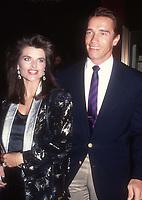 Maria Shriver Arnold Schwarzenegger 1989<br /> Photo By Adam Scull/PHOTOlink.net