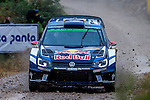 LATVALA Jari-Matti / ANTTILA Miikka  (Volkswagen Polo R WRC)during the World Rally Car RACC Catalunya Costa Dourada 2016 / Rally Spain, in Catalunya, Spain. October 15, 2016. (ALTERPHOTOS/Rodrigo Jimenez)