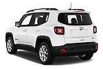 Car pictures of rear three quarter view of 2021 JEEP Renegade Latitude 5 Door SUV Angular Rear