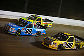 NASCAR Camping World Truck Series<br /> Eldora Dirt Derby<br /> Eldora Speedway, Rossburg, OH USA<br /> Wednesday 19 July 2017<br /> Rico Abreu, Curb Records Toyota Tundra, Grant Enfinger, Champion Power Equipment\ Curb Records Toyota Tundra, and Matt Crafton, Ideal Door / Menards Toyota Tundra<br /> World Copyright: Barry Cantrell<br /> LAT Images