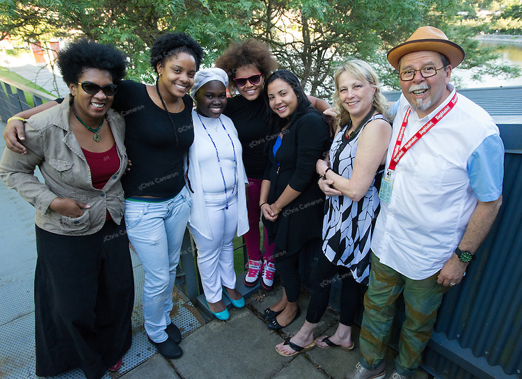 Jane Bunnett and Maqueque with Ken Pickering at Performance Works on June 25, 2014 TD Vancouver International Jazz Festival