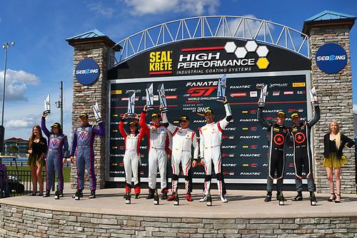 Racers Edge Motorsports Acura NSX GT3 Evo:Taylor Hagler, Dakota Dickerson<br /> <br /> Compass Racing Acura NSX GT3 Evo:Rodrigo Sales, Matt McMurry