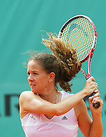 29-5-06,France, Paris, Tennis , Roland Garros, Patty Schnyder in her first round match