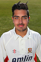 Rehan Hassan of Essex CCC in LV County Championship Kit - Essex County Cricket Club Press Day at the Essex County Ground, Chelmsford, Essex - 02/04/13 - MANDATORY CREDIT: Gavin Ellis/TGSPHOTO - Self billing applies where appropriate - 0845 094 6026 - contact@tgsphoto.co.uk - NO UNPAID USE.