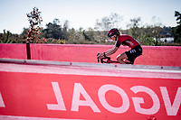 Aniek Van Alphen (NED/777)<br /> <br /> Elite Women's Race<br /> 2021 UCI cyclo-cross World Cup - Zonhoven (BEL)<br /> <br /> ©kramon