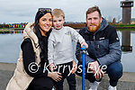Enjoying a stroll in the Tralee Bay Wetlands on Sunday, l to r: Megan O'Sullivan, Harry and Sean Williams.