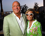 Mark and Debra Grierson at the Park Place pool party Saturday night June 20, 2009.(Dave Rossman/For the Chronicle)