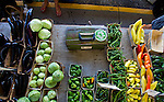 Local produce are aplenty at the Farmer's Market, Saturday, Sept. 3, 2011 in Ann Arbor, Mich. (Tony Ding for The New York Times)