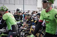 Bernhard 'Bernie' Eisel (AUT/DimensionData) at the start<br /> <br /> 60th E3 Harelbeke (1.UWT)<br /> 1day race: Harelbeke › Harelbeke - BEL (206km)