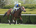 Itsonlyactingdad and jockey Paco Lopez win Race 7 at Keeneland for owner Starlight Racing and trainer Todd Pletcher.