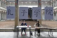 - State University of Milan, open doors day for educational guidance; Confucius Institute for the promotion of Chinese language and culture in Italy<br /> <br /> - Università Statale di Milano, giornata porte aperte per l'orientamento didattico;  Istituto Confucio per la promozione della lingua e della cultura cinese in Italia