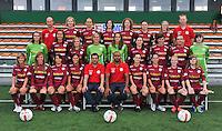 2012.08.23 Fotosessie Dames Zulte Waregem