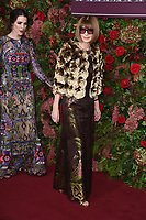 Bee Carrozzini and Dame Anna Wintour<br /> arriving for the 2018 Evening Standard Theatre Awards at the Theatre Royal Drury Lane, London<br /> <br /> ©Ash Knotek  D3460  18/11/2018