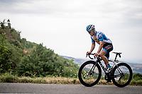 Hugo Hofstetter (FRA/Israel - StartUp Nation)<br /> <br /> Stage 1: Clermont-Ferrand to Saint-Christo-en-Jarez (218km)<br /> 72st Critérium du Dauphiné 2020 (2.UWT)<br /> <br /> ©kramon