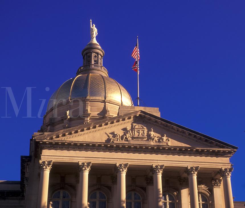 state capitol, Atlanta, state house, GA, Georgia, The State Capitol Building in the capital city of Atlanta.